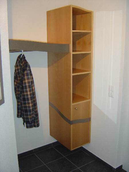 Garderobe auf mass innenausbau eine auswahl unserer for Garderobe vom schreiner